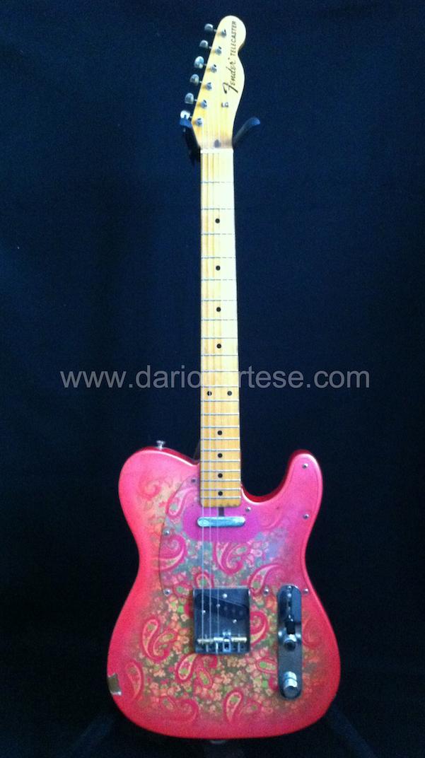 Fender Telecaster Paisley G-Bender